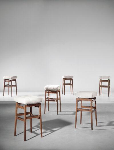 Gianfranco Frattini, 'Set of six bar stools, designed for the Hotel Parco dei Principi, Rome', circa 1964