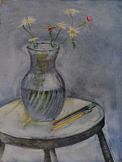 Francis Wishart, 'Flowers in Glass Jug', 2017