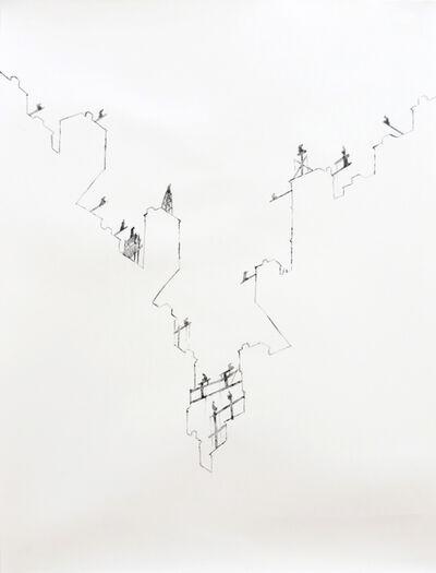 Yazid Oulab, 'Stylites Urbains #2', 2014