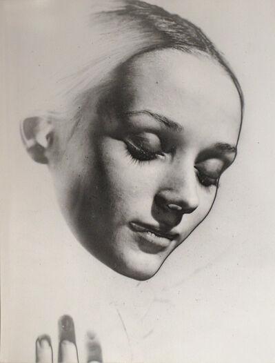 Erwin Blumenfeld, 'Niki de St. Phalle, Solarized', ca. 1957