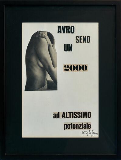 Ketty La Rocca, 'Avrò un seno 2000 ad altissimo potenziale', 1965