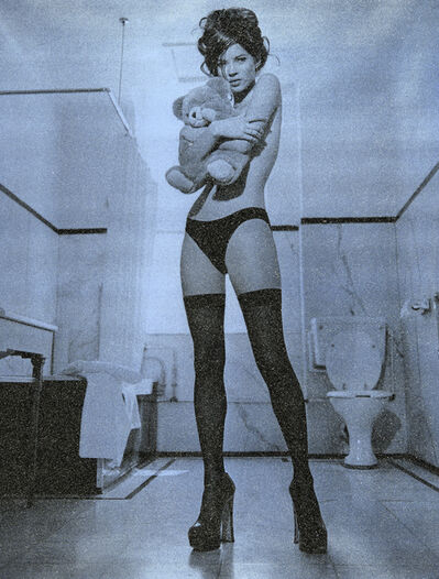 Russell Young, 'Kate Moss Superstar'
