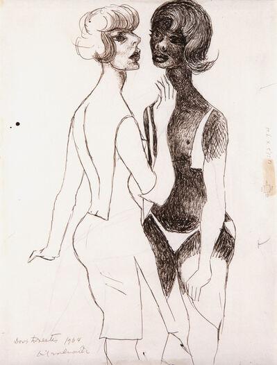 Emiliano Di Cavalcanti, 'Dos lorestes', 1964