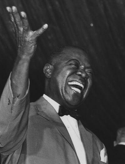 Ron Galella, 'Louis Armstrong, Roseland Ballroom, New York', 1967