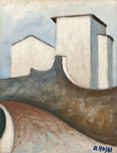 Ottone Rosai, 'Muri', 1956 ca.