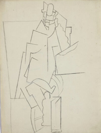 Pablo Picasso, 'Homme Assis', 1915