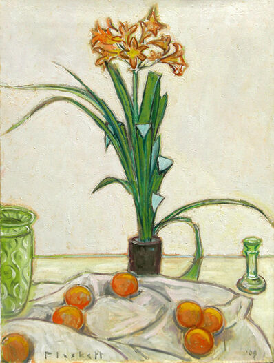 Joseph Plaskett, 'Clivia and Oranges', 2009