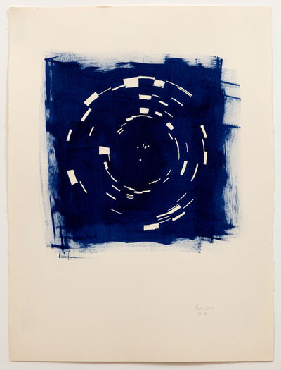 Annette Lawrence, 'Indigo March 2019', 2019