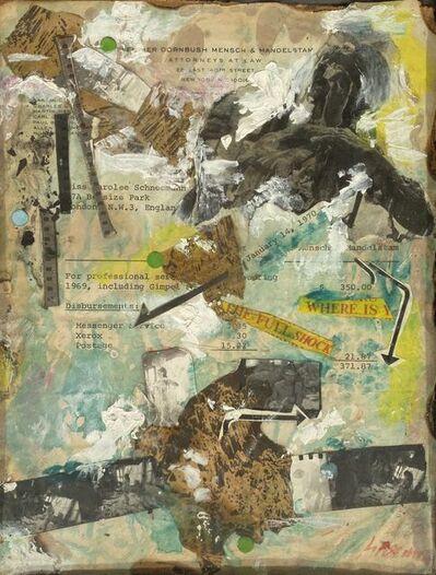 Carolee Schneemann, 'Untitled (Where Is The Full Shock)', 1970