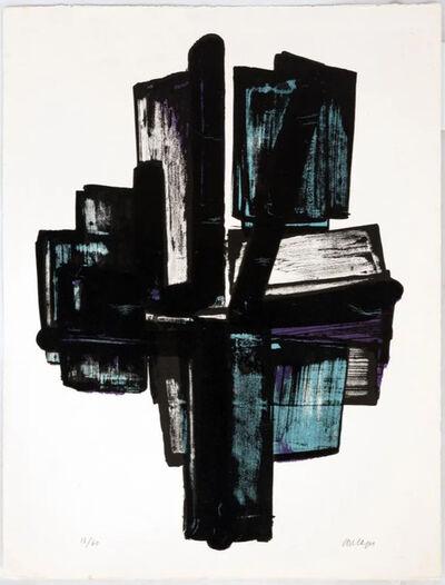 Pierre Soulages, 'Lithographie no.4', 1957