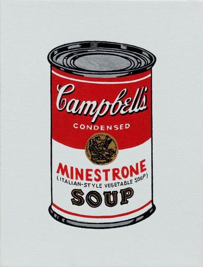 Richard Pettibone, 'Andy Warhol 'Campbell's Soup Can: Minestrone Soup'', 1987