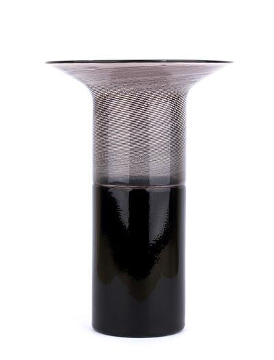 Tapio Wirkkala, 'Mushroom type vase with abstract decoration'