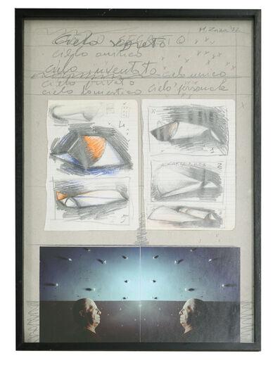 Michele Zaza, 'Cielo segreto', 1977