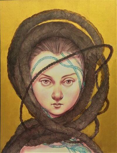 Anita Kunz, 'Crowning Glory, 2', 2017