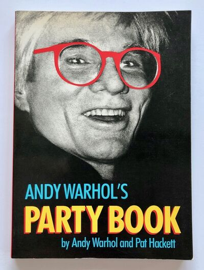 Andy Warhol, 'Andy Warhol's Party Book', 1988