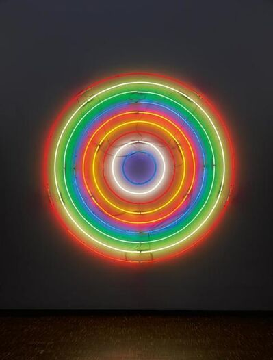 John M. Armleder, 'Untitled (target)', 2001