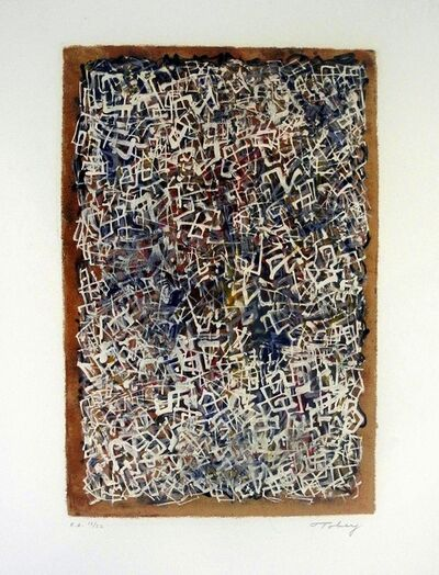 Mark Tobey, 'Confusion', 1970