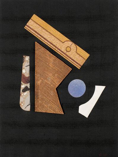 Carmelo Arden Quin, 'Collage sin título', 1958