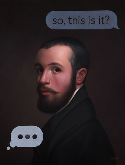 Shawn Huckins, 'An Artist's Self Portrait: So, This Is It?', 2020