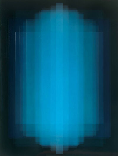 Bernadette Jiyong Frank, 'Migrant (Phthalo Blue)', 2018