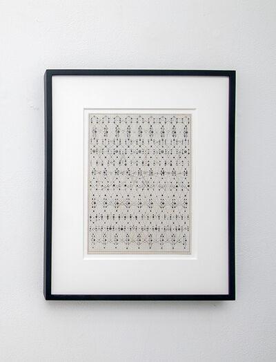 Victoria Burge, 'Typewriter Fabric 2', 2019