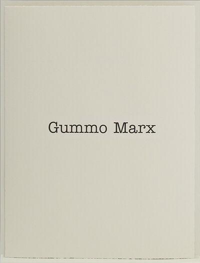 Simon Patterson, 'Gummo Marx', 2018