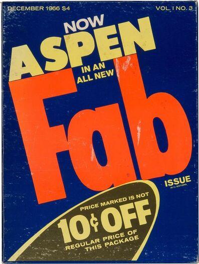 Andy Warhol, 'Aspen magazine, Vol. 1 No. 3', December 1966
