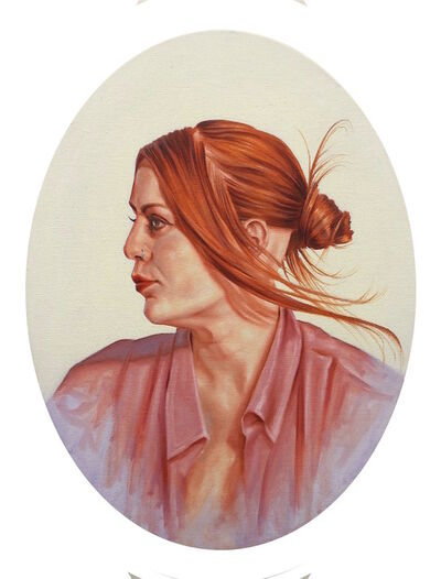 Laurence O'Toole, 'Lady In The Oval', 2017