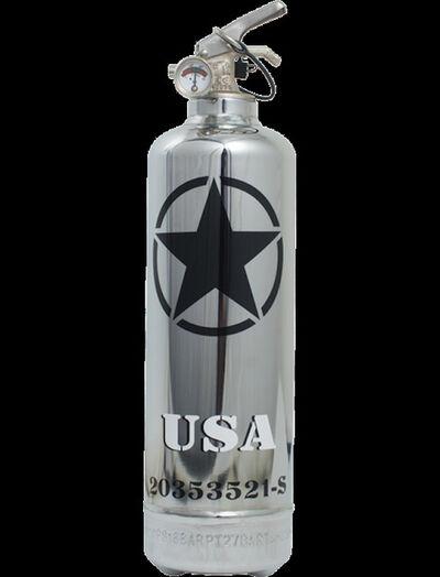 Jaler Fine Art, 'Extinguisher USA Star Chrome', 2020