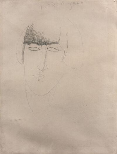 Amedeo Modigliani, 'RENÉE KISLING', 1916