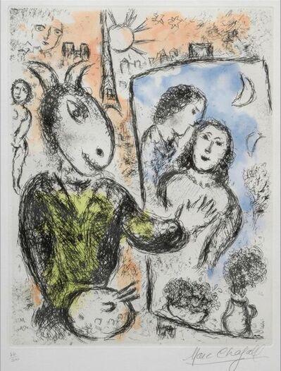 Marc Chagall, 'Le couple ', 1981