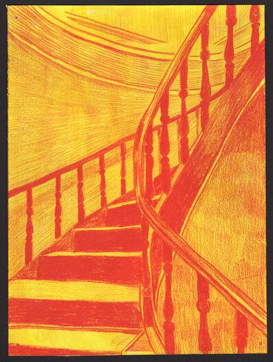 Morten Schelde, 'Staircase (red)', 2019