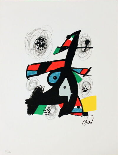 Joan Miró, 'Untitled (from La Melodie Acide VI)', 1980
