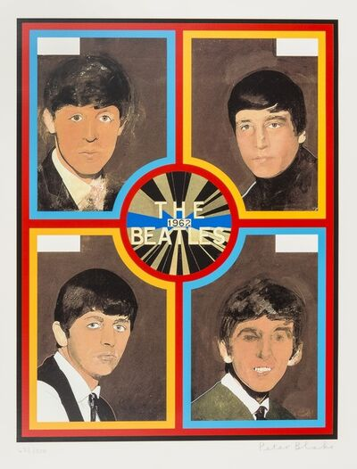 Peter Blake, 'The Beatles, 1962', 2012