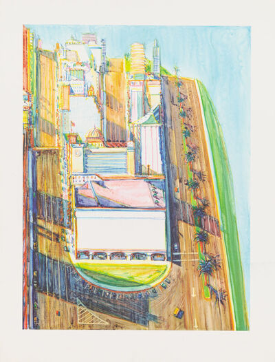 Wayne Thiebaud, 'City Views', 2003