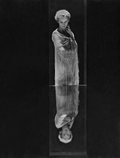 George Hoyningen-Huene, 'Reflection: Vogue's Eye View of the Mode (Mrs. Hubbell)', 1930