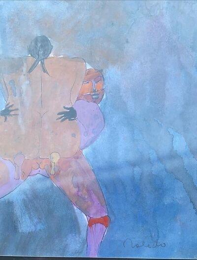 Francisco Toledo, 'El abrazo', 2008