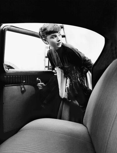 Bob Willoughby, 'Audrey Hepburn', 1953