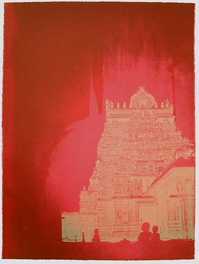 Chitra Merchant, 'Temple Series - Garbagriha II', 2016