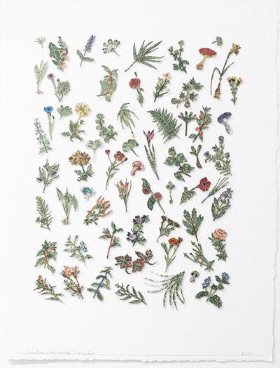 Barton Lidice Benes, 'Botanica (Green Flowers)', 2011