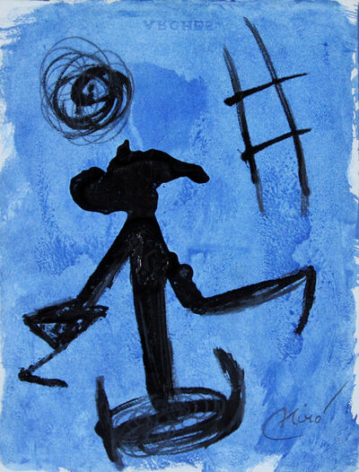 Joan Miró, 'Woman, Escape Ladder', 1977