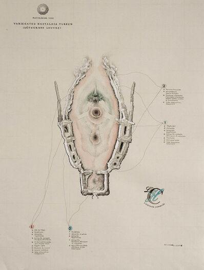 Patricia Smith, 'Variegated Nostalgia Tureen (Détourned Louvre)'
