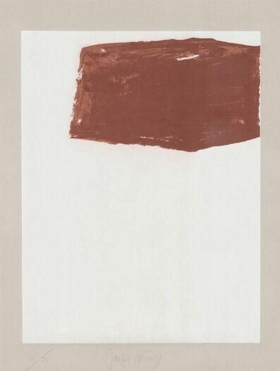 Joseph Beuys, 'Schwurhand: Wandernde Kiste Nr. 2', 1970-1980