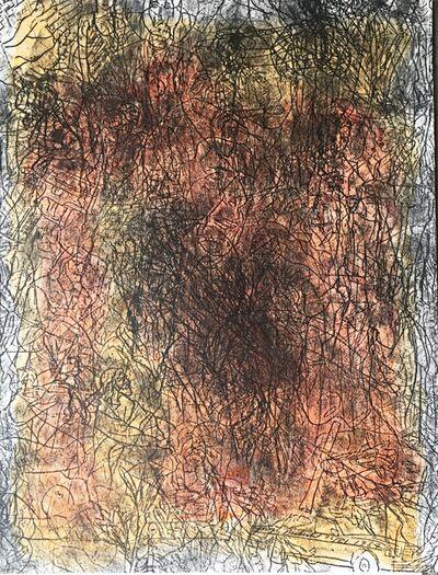 "Joseph Nechvatal, '""Thou Shalt Not Make Graven Images"" (The Second Commandment)', 1987"