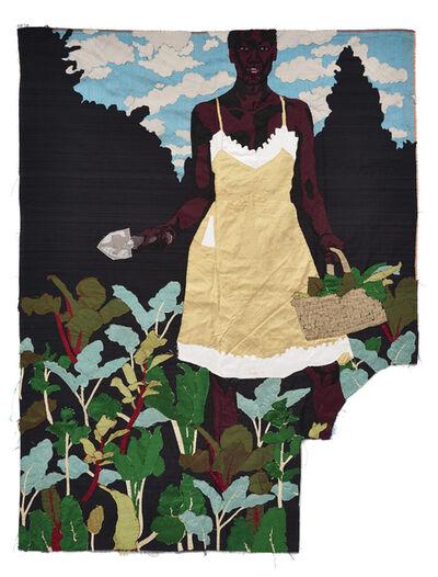 Billie Zangewa, 'constant gardener', 2014