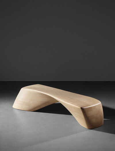 Zaha Hadid, 'Ordrupgaard bench, model no. PP995, designed for the Ordrupgaard Museum extension, Charlottenlund, Denmark', designed 2005-produced 2009