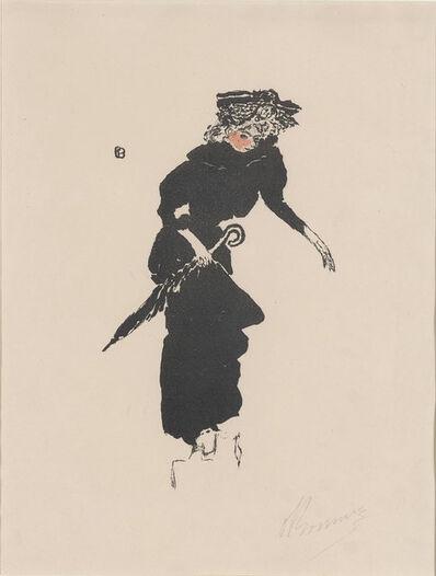 Pierre Bonnard, 'Femme Au Parapluie (Bouvet 33; Roger-Marx 35)', 1895