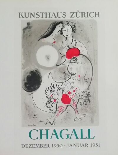 Marc Chagall, 'Kunsthaus Zúrich', 1959