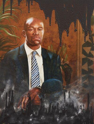 Ajamu Kojo, 'Black Blood, No.2: In the spirit of J.B. Stradford, Attorney ', 2017