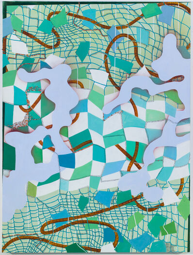 Lisa Corinne Davis, 'Semblant Sector', 2015